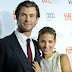 Chris Hemsworth and Elsa Pataky waiting twins