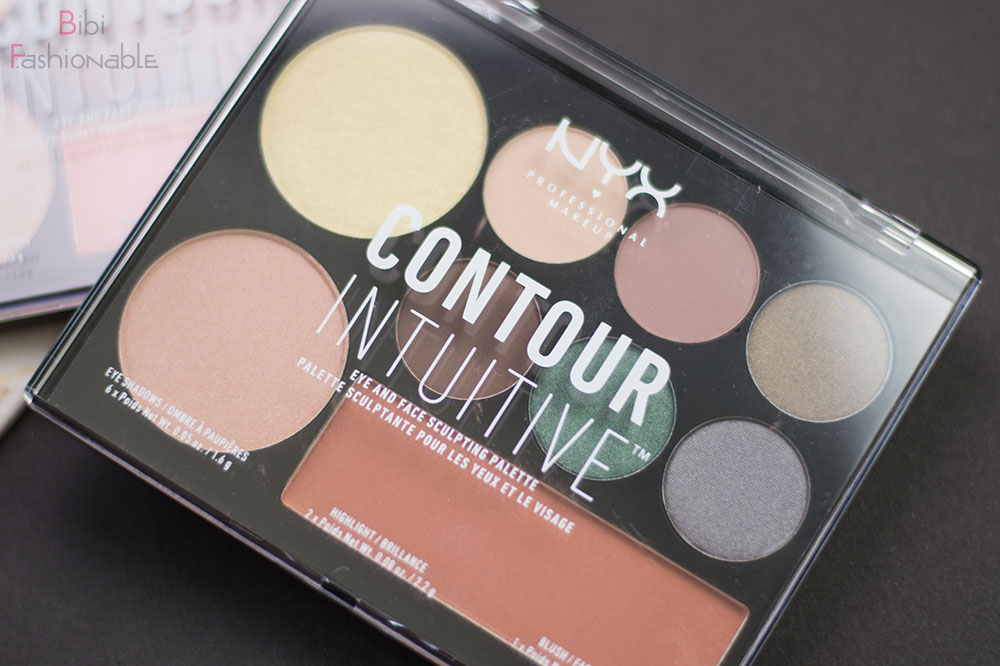 Contour Intuitive Eye & Face Sculpting Palette Smoke & Pearls