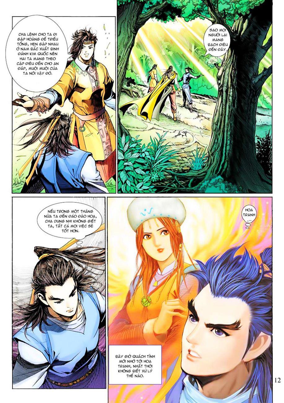 Anh Hùng Xạ Điêu anh hùng xạ đêu chap 38 trang 11