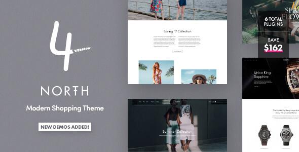 North v4.0.2 - Responsive WooCommerce Theme