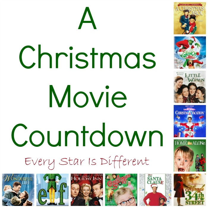 Christmas Movie Countdown