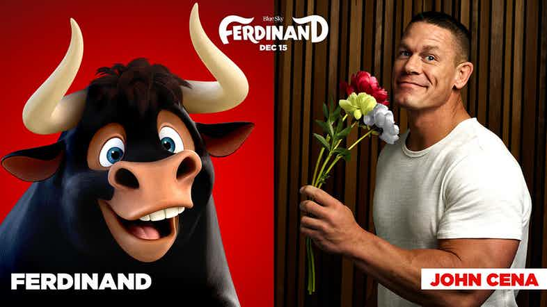 John Cena Is A pacifist Bull In Ferdinand Teaser Trailer