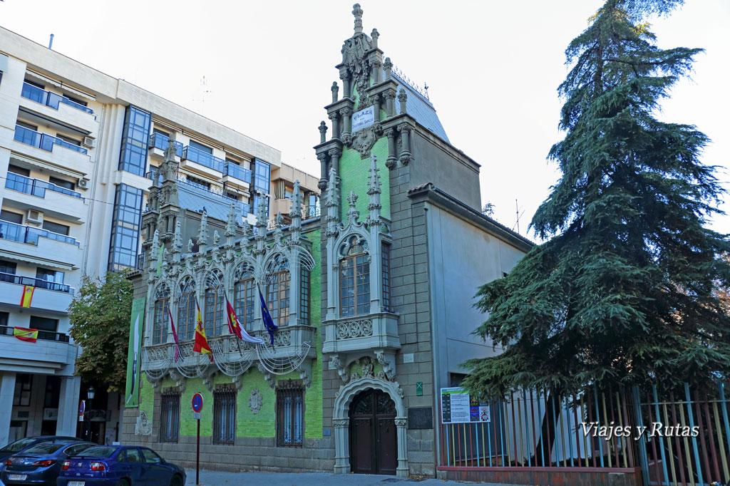 Casa de Hortelano,  Museo de la Cuchillería, Albacete