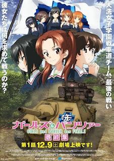 تقرير فيلم البنات والبانزر: الفصل الأخير الجزء الأول Girls & Panzer: Saishuushou Part 1