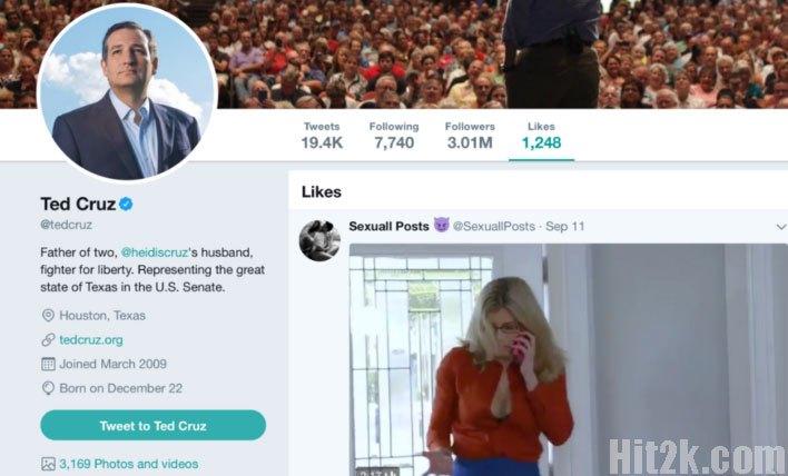 Ted Cruz Liked Tweet Breaks The Internet