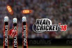 Real Cricket 3D 18 MOD APK+Data Unlimited Money v1.3 for Android Terbaru 2018