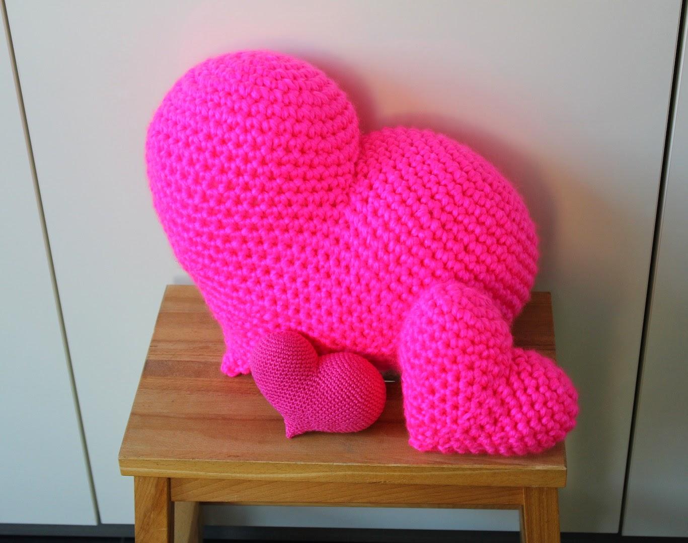Hilde Haakt Roze Harten Haken