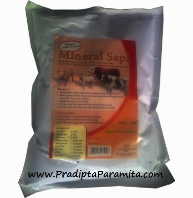 mineral untuk peetumbuhan ternak sapi kambing domba dan ayam