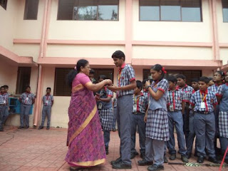 Winners of SRISHTI Inter School Competition by CMS College of Engg. & Technology