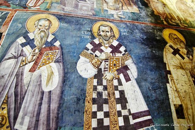 Frescos (detalle) de la Iglesia Santa Madre de Dios Peribleptos, Ohrid - Macedonia por El Guisante Verde Project