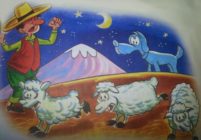 fabula el pastor y su ganado