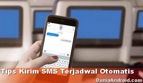 Cara Kirim SMS Terjadwal Otomatis di HP Android