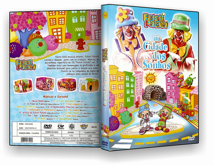 CAPA DVD – Patati Patata – Cidade Sonhos – ISO