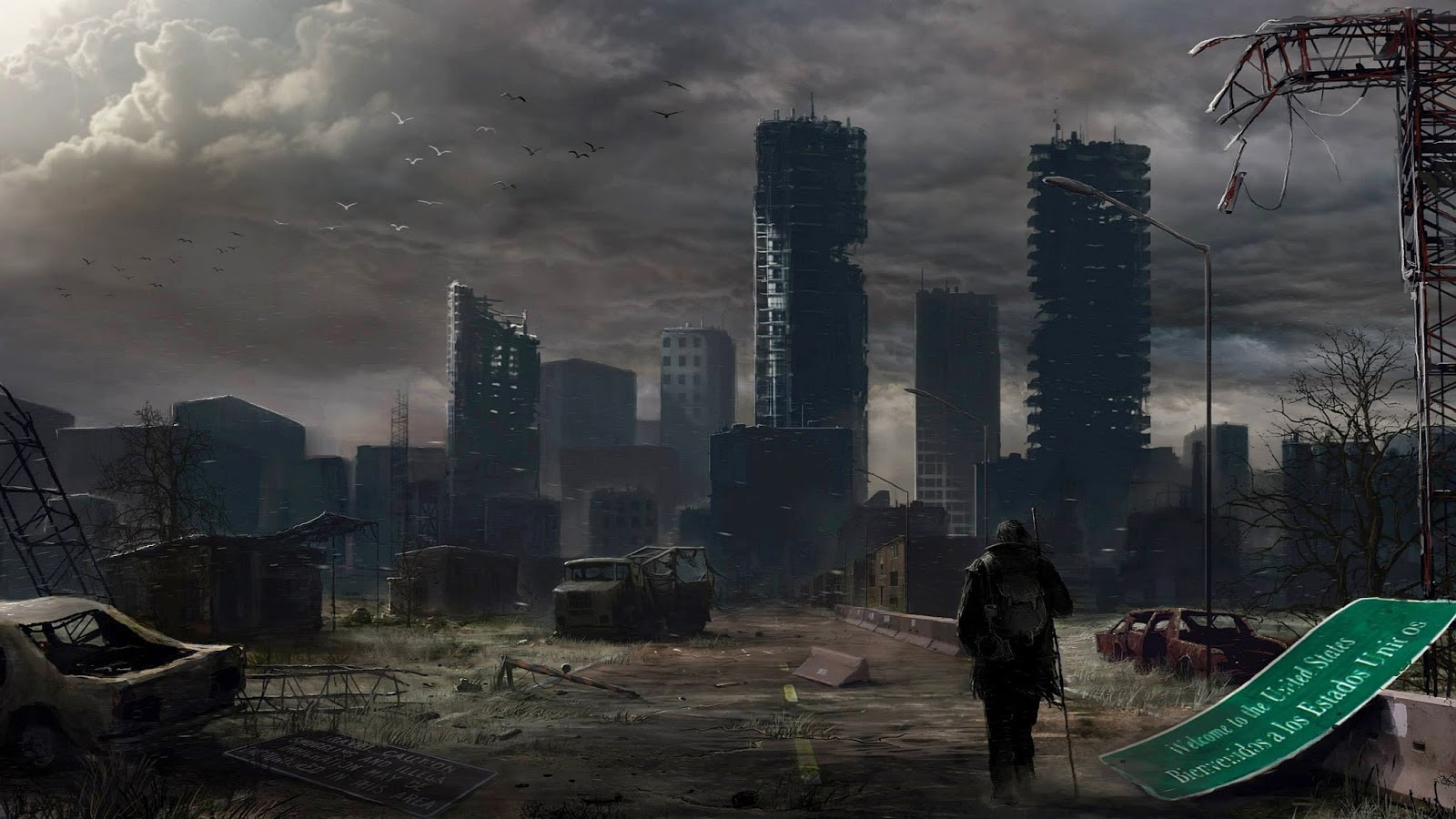 World Wildness Web: Post Apocalyptic Wallpapers