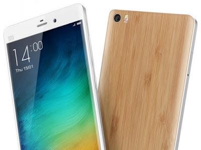 HP Layar Lebar 5.7 Inci Resolusi 2K Xiaomi Mi Note 2