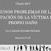 Participación de la víctima en su propio daño - Responsabilidad - Carlos Pizarro Wilson