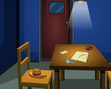 GenieFunGames Interrogation Room Escape Walkthrough