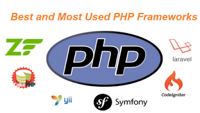 best and Most used php framework 2018