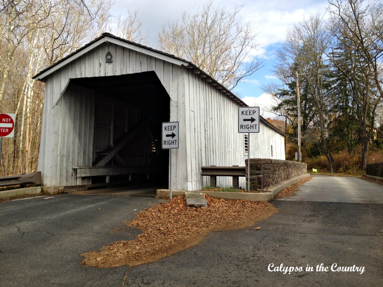 Last Covered Bridge in NJ