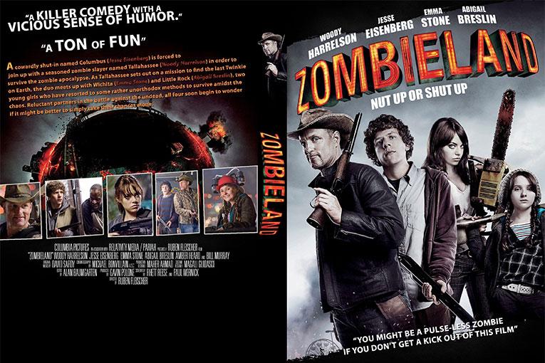 Zombieland (2009) 720p BrRip x264 [Dual Audio] [Hindi+English]