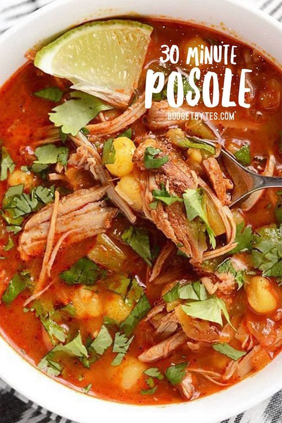 Easy 30 Minute Posole