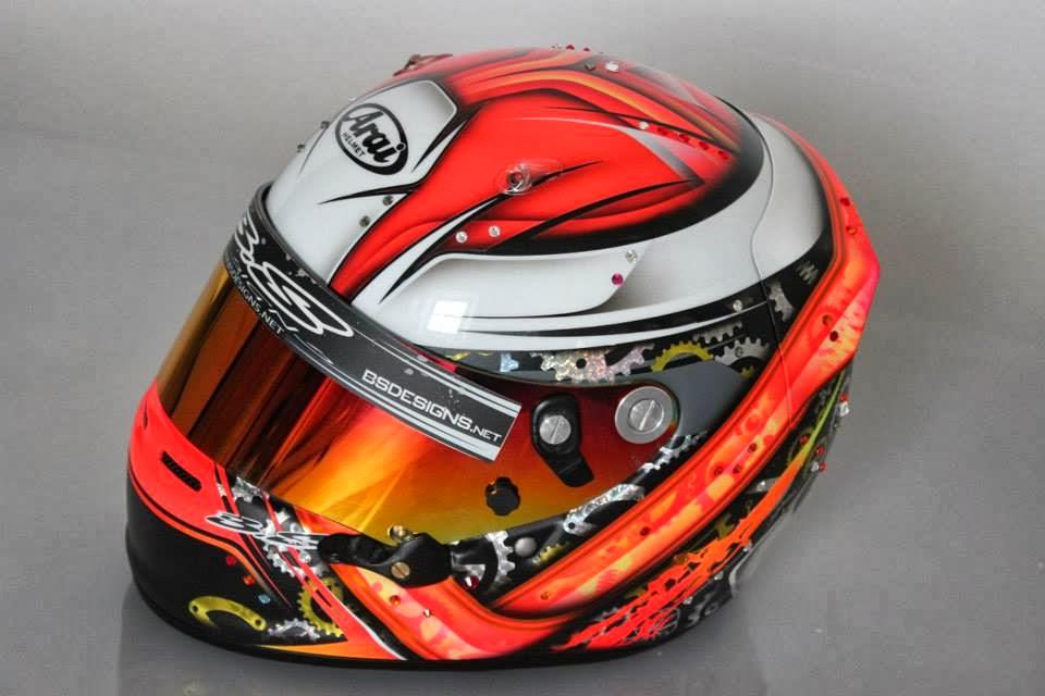 Racing Helmets Garage Arai Gp 6 2013 By Bs Designs