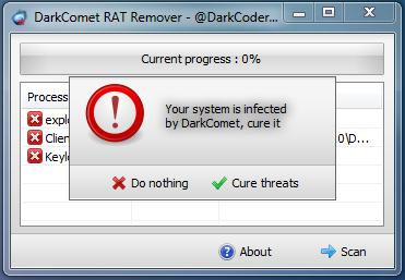 DarkComet RAT Remover Released