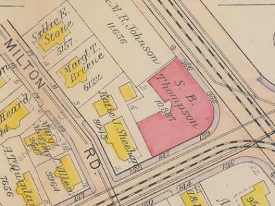 1919 atlas map