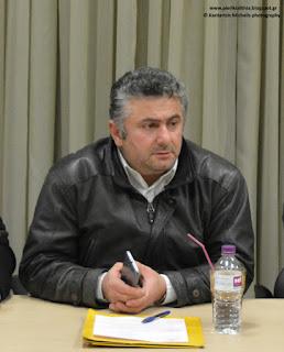 Κυριακίδης Γιώργος - Προ ημερησίας ερωτήσεις στο Δ.Σ. Κατερίνης 14-2-2018