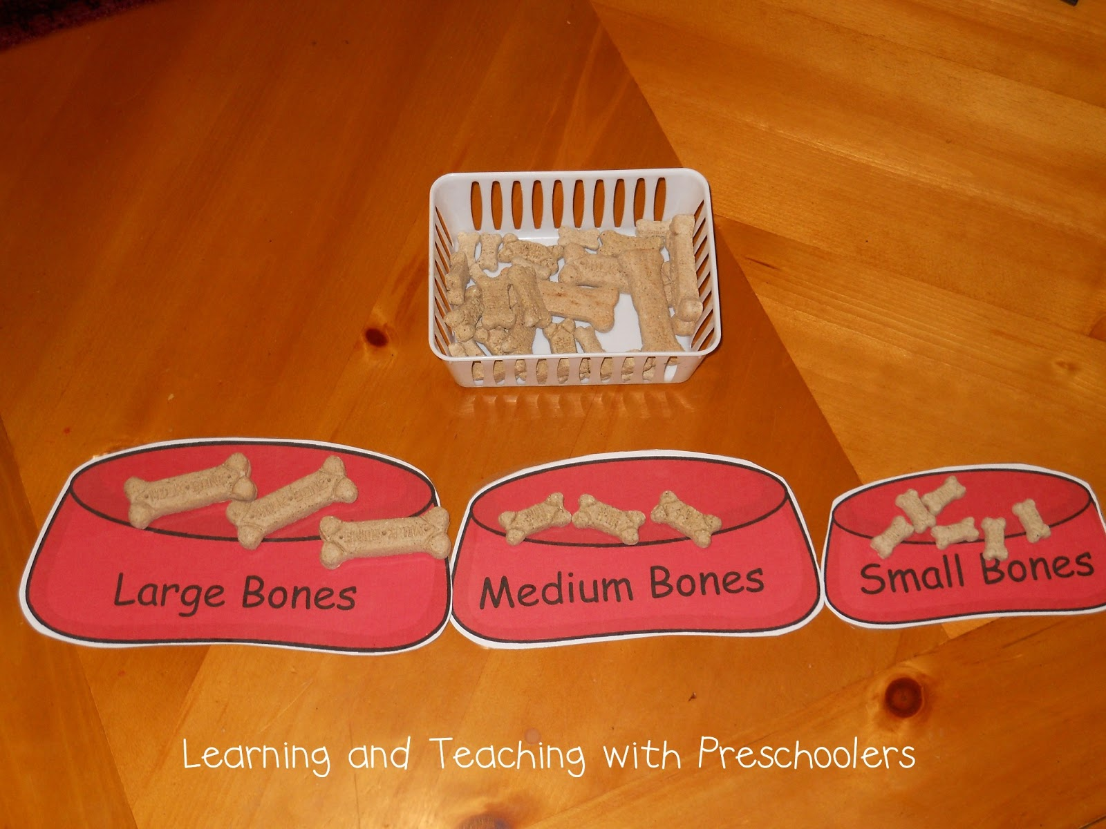 Learning And Teaching With Preschoolers Got Milk Bones