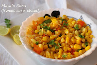 MASALA CORN / SWEET CORN CHAAT