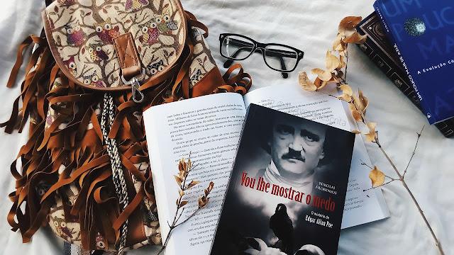 vou lhe mostrar o medo, edgar allan poe, classico, livros, libros, books, livraria, top livros, library