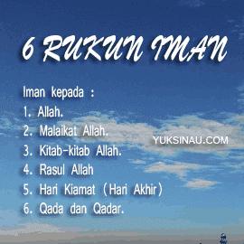 6 Rukun Iman: Pengertian, Makna, Penjelasan