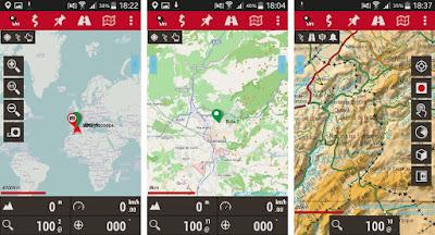OruxMaps, crea mapas con tus rutas preferidas