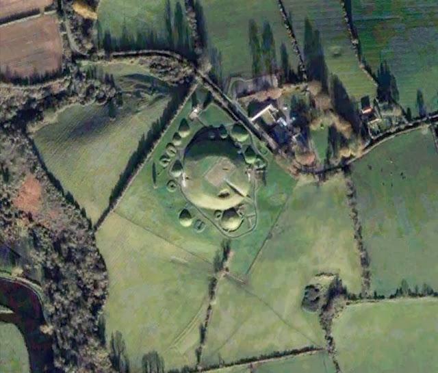 Resultado de imagen de aérea yacimiento arqueológico