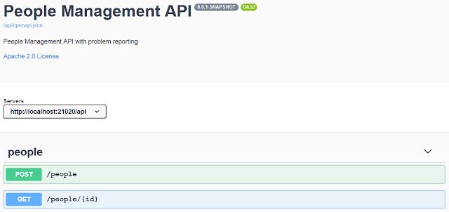 API setup