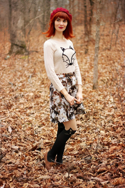 ModCloth, cat skirt, novelty over quantity, review