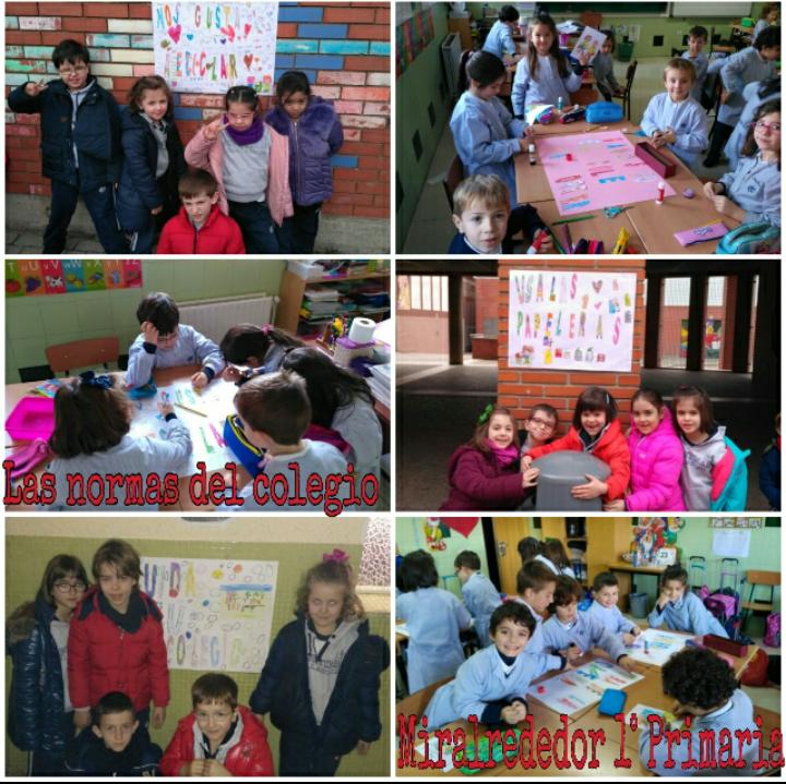 Agustinas Valladolid - 2017 - Primaria 1 - Mi Barrio - Miralrededor 2