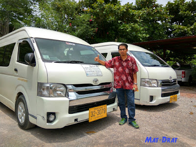 Transport Van Bangkok Murah rent car cheap