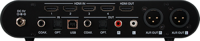 Essence HDACC II Rear Panel Everything Audio Network