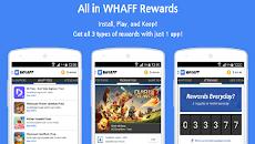 Whaff Rewards, Cara Mudah Mendapatkan Uang/Dollar Dari HP
