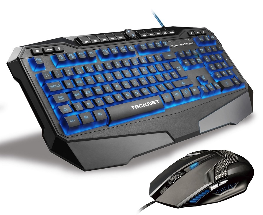 Gaming keyboards and mice, gaming peripherals