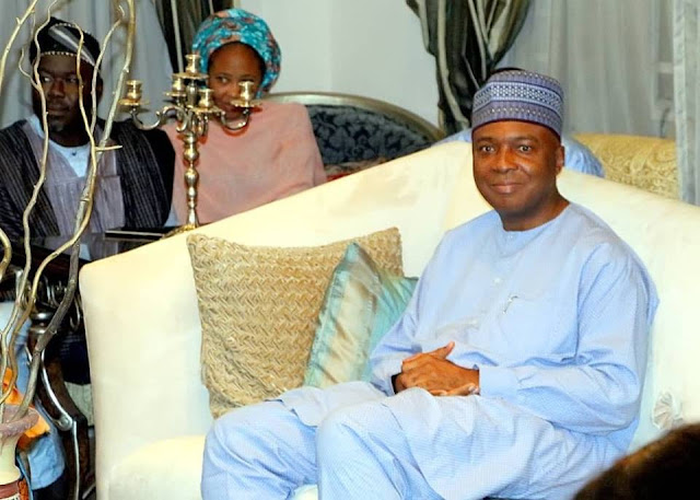 Saraki Doles out N5m for ailing actors?Promises to make a case for Nollywood