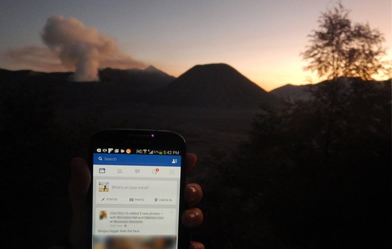 VisionData For Smooth Overseas Wifi Connectivity at Mount Bromo, Surabaya