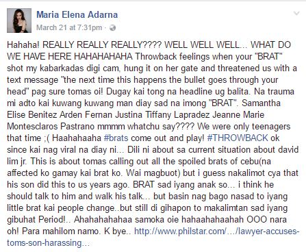 Viral ► Ellen Adarna Claims Cebu City Mayor's Son Once Threatened Her Friend's Life!