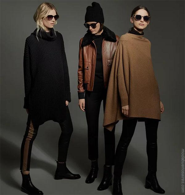 Looks de moda otoño invierno 2018 para mujer. Moda 2018 mujer.