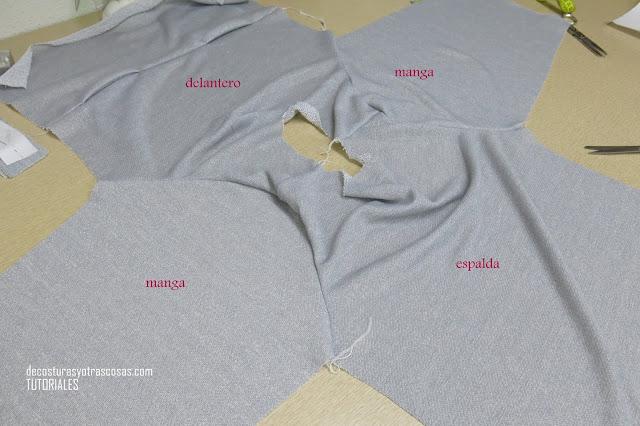 como coser una sudadera de punto jersey