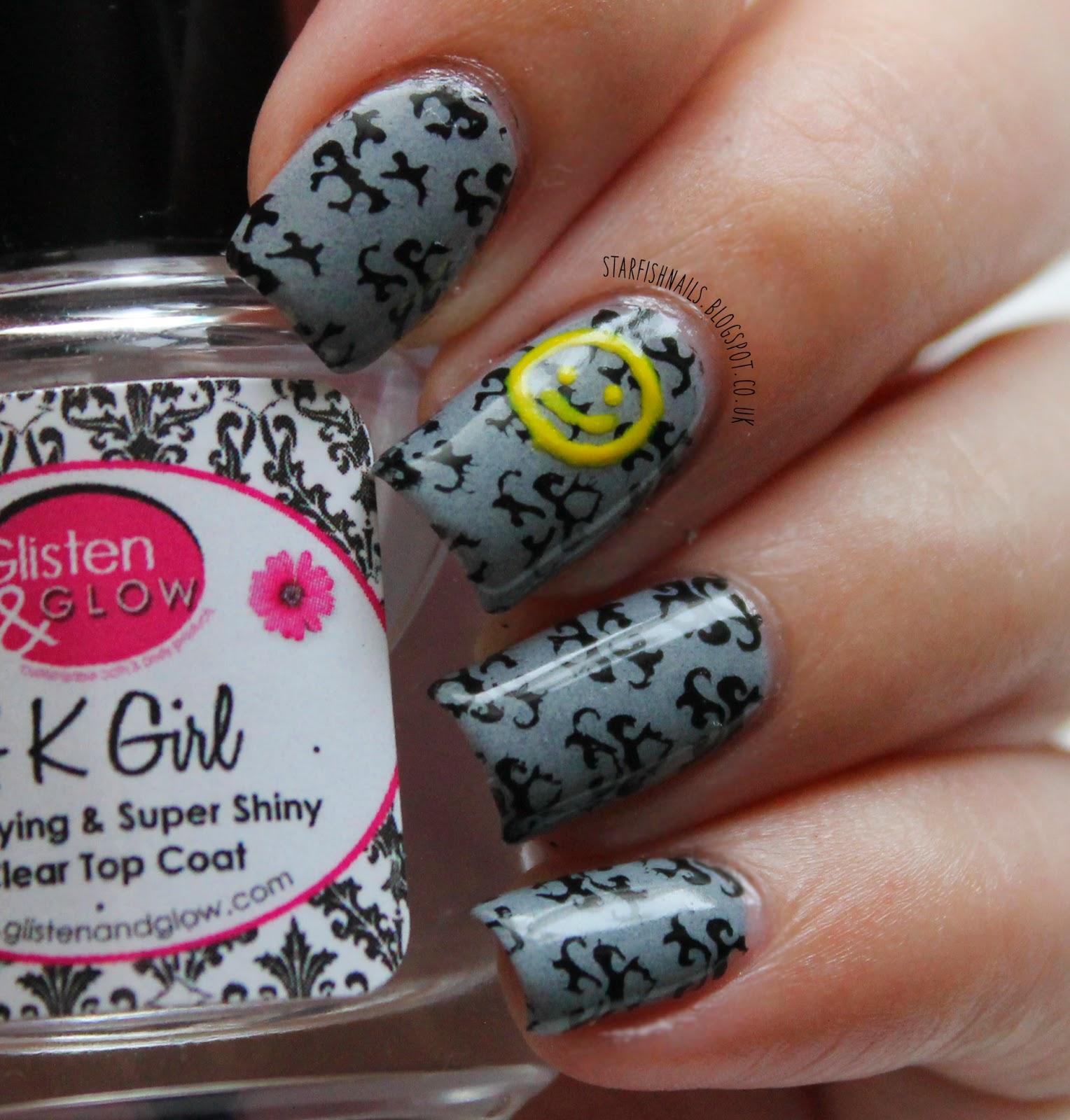 Starfish Nails: Nail Art Update