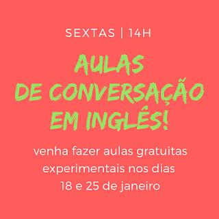 Aulas de Inglês Conversação