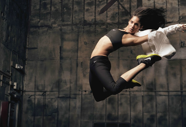 Dancer Sofia Boutella being epic